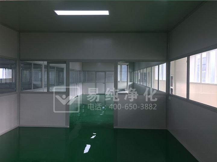 光学净化车间案例分享江苏康耐特光学10万级净化车间工程案例