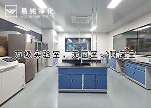 口罩无菌车间标准3个万级实验室,无菌室,限度室